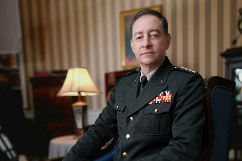 David SEMERY dans le rôle du Général HAIG
