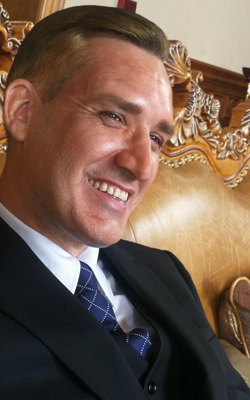 Lionel ROUDAUT dans le rôle de Murray McLehose