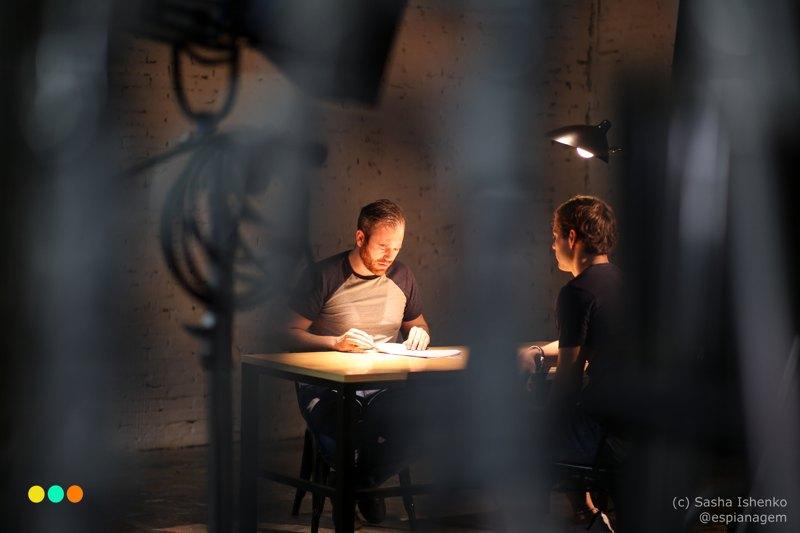 Vincent Lebourgeois en tournage