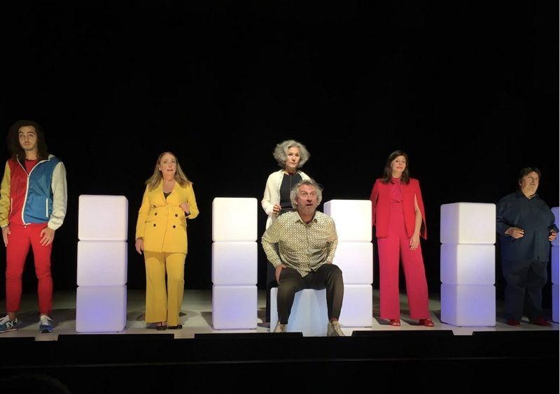 Isy Chautemps au théâtre