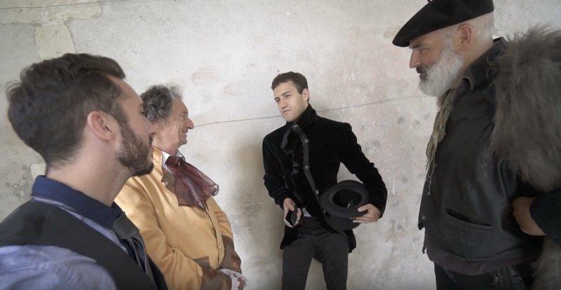 Pierre BIRET producteur sur un tournage