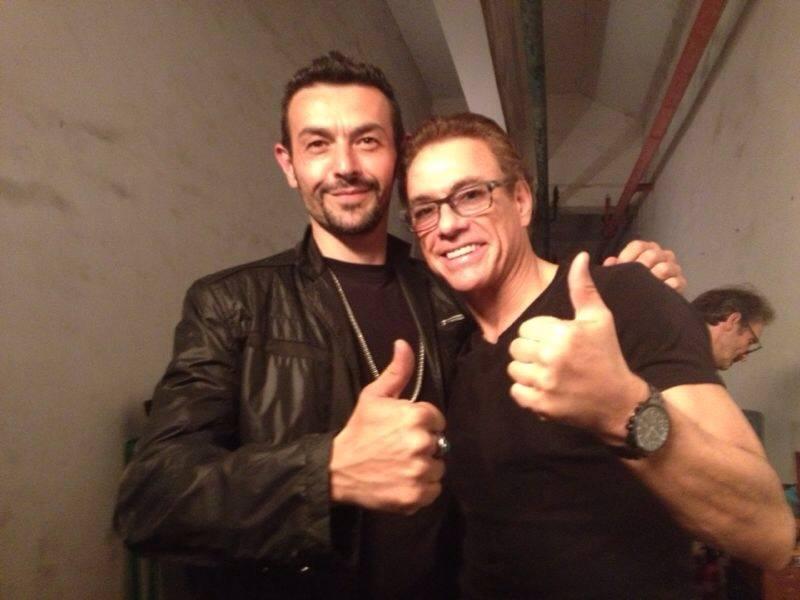 Jean-Claude VanDamme et Philippe Joly