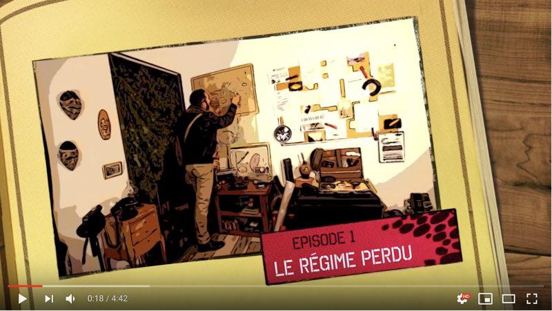 Pierre producteur série documentaire sur Youtube