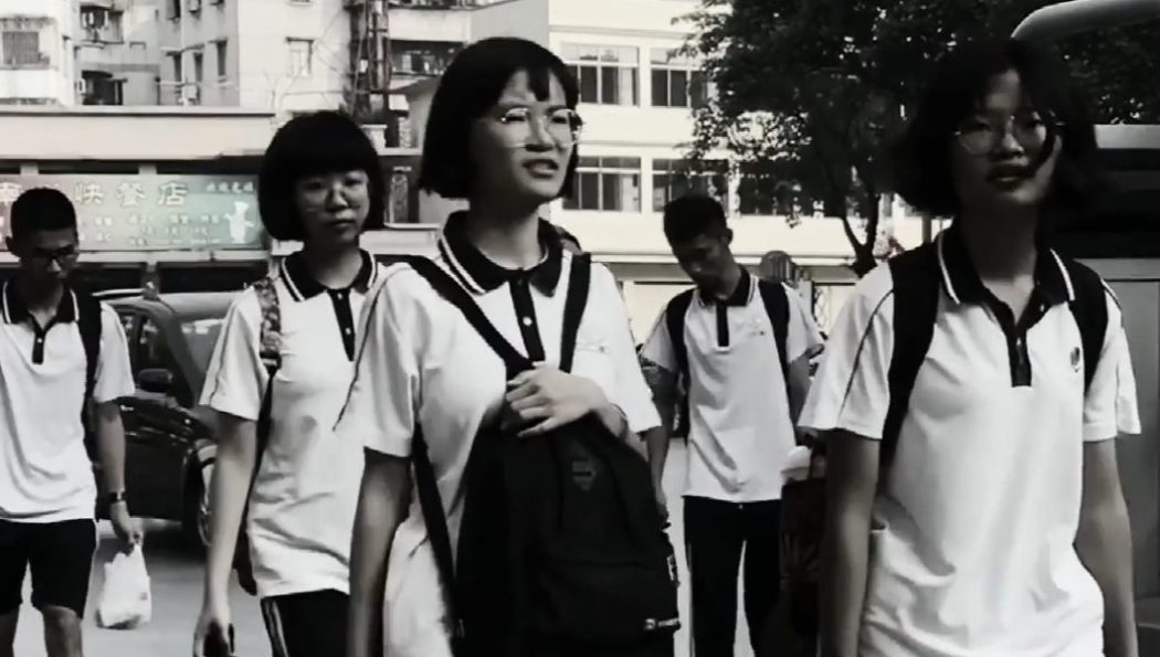 Rentrée au lycée – Microfilm par Sophie CHEN