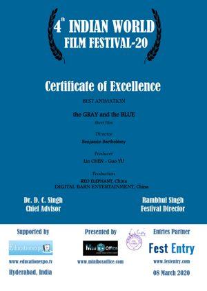 Prix du meilleur film d'animation